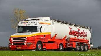 Tweedehands Scania 164 480 voor Simon Loos
