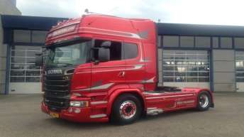 Scania R580 voor Bas Gelderblom