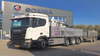 Scania R520 voor Groen Transport