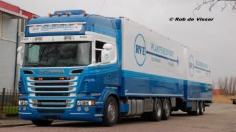 Scania R500 voor Nick van der Poel