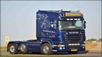 Scania R730 voor Veldstaal B.v.