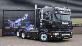 Scania R560 voor Van Pommeren las en montagebedrijf bv