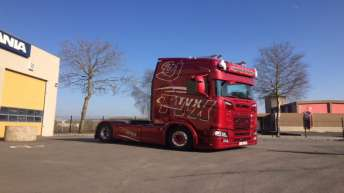 Scania S650 voor TVX uit Kortemark