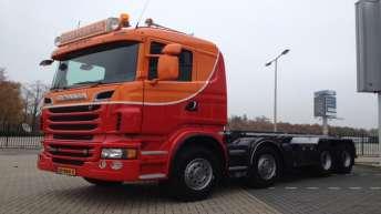 Scania R500 voor Hans Plegt Transport Bv.
