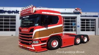 Scania R650 voor Robert van der Linden