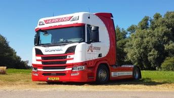 Nieuwe Scania R520 voor Hurkens Transport & Expeditie BV