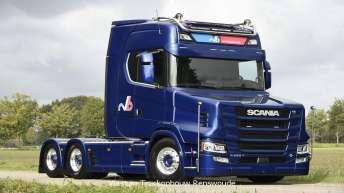 Scania NextGen torpedo voor RVB Materieel Verhuur uit Harderwijk