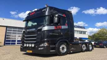 Scania S580 voor Lambert Hendriks Transport uit Heusden
