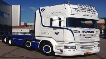 Scania R520 voor Marcel v/d Jagt