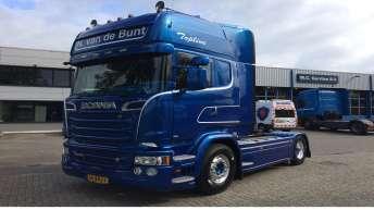 Scania R580 voor Nico v/d Bunt