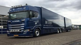Scania S520 voor Wilco Bloemen