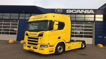 Scania R520 voor Verhuurbedrijf Zuid Holland