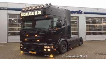 Scania V8 R520 - Borgers