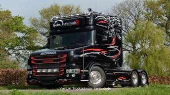 Scania T730 voor Gebr. Heinhuis