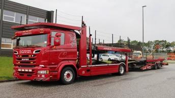 Scania R580 combinatie voor Per Henriksen (DK)