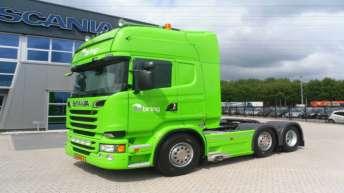 Twee Scania R500 trekkers voor Bas IJsselstein