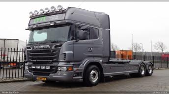 Twee Scania R560 bakwagens voor MRT