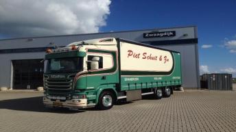 Scania R520 voor Piet Schuit & Zn.