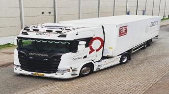 Scania S580 voor Dronq Transport