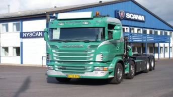 Scania R730 voor Jørgen Christoffersen & Son (DK)