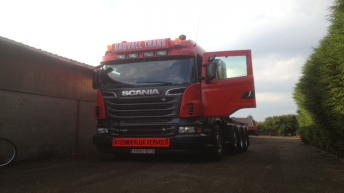 Scania R730 voor Bauvall Trans (B)