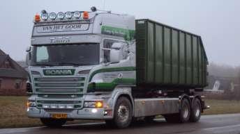 Scania R500 voor Van Het Goor
