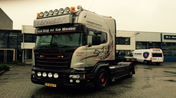 Scania V8 R730 Silver Griffin nr 89/100 - D.M. Termeer