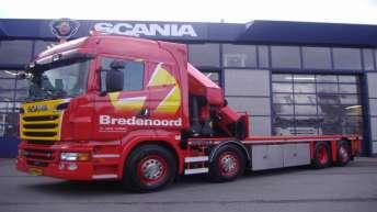 Scania R500 voor Bredenoord