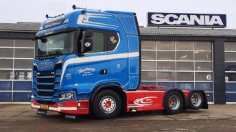 Scania S520 voor Bjarne Pedersen & Søn (DK)
