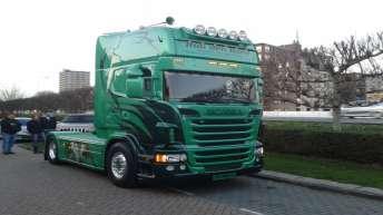 Scania R500 voor Rob den Hoed
