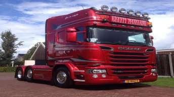 Scania R580 voor Gerrit Maseland