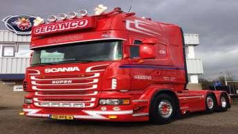 Tweedehands Scania R500 voor Geranco