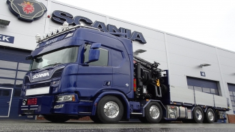 Scania R650 voor Jørgensen Autoservice (NO)