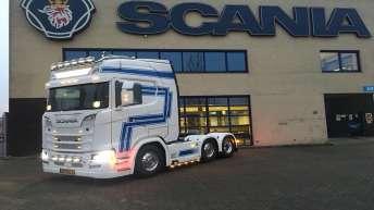 Scania S520 voor Poppe Veere
