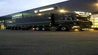 Scania R560 voor HCN