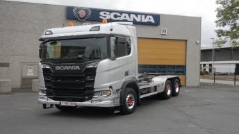 Scania R520 motorwagen voor Dri-Sa uit Meulebeke (BE)