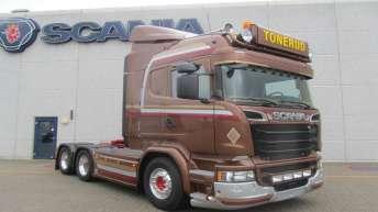 Scania R580 voor Tonerud