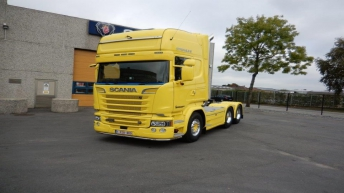 Scania R580 voor MC Depannage Bvba (B)