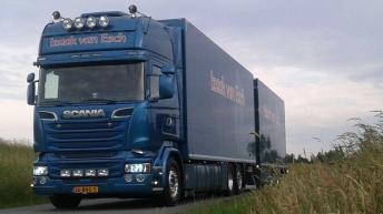 Scania R580 voor Izaak van Esch