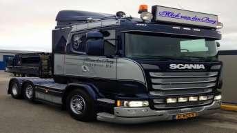 Scania R520 voor M. van den Berg