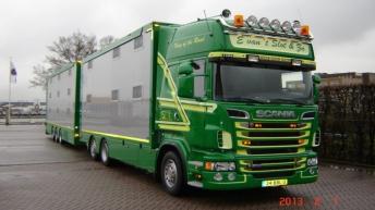 Scania R500 voor E. van 't Slot & Zn