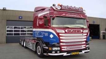 Scania R520 voor Stevnhoved
