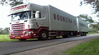 Scania R500 combinatie voor Boonstra
