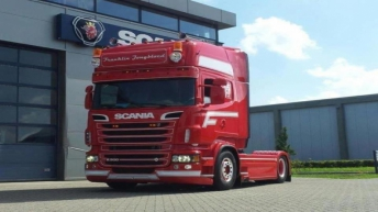 Scania R500 voor Franklin Jongbloed