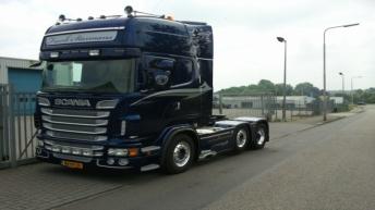 Scania R500 voor Frank Starmans Transporten