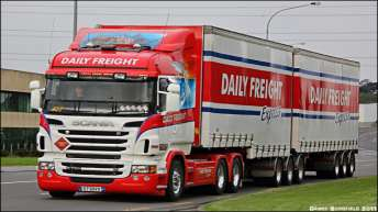 Scania R730 voor Daily Freight