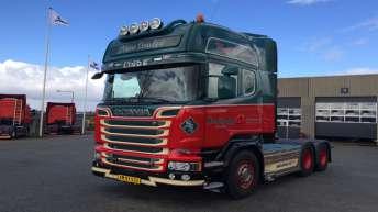 Scania R580 voor Soren Juncher (DK)