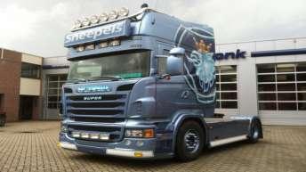 Scania voor Ruud Sneepels