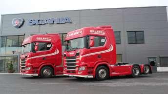 Scania S730 NextGen trekkers voor Ørland Transport