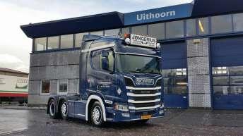 Scania R520 voor Jongerius